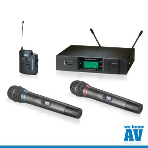 Audio-Technica-3000B-Wireless Microphone System-Image