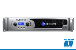 Crown XLS1000 Amplifier Image