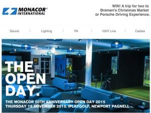 We Know AV - Monacor Open Day Image