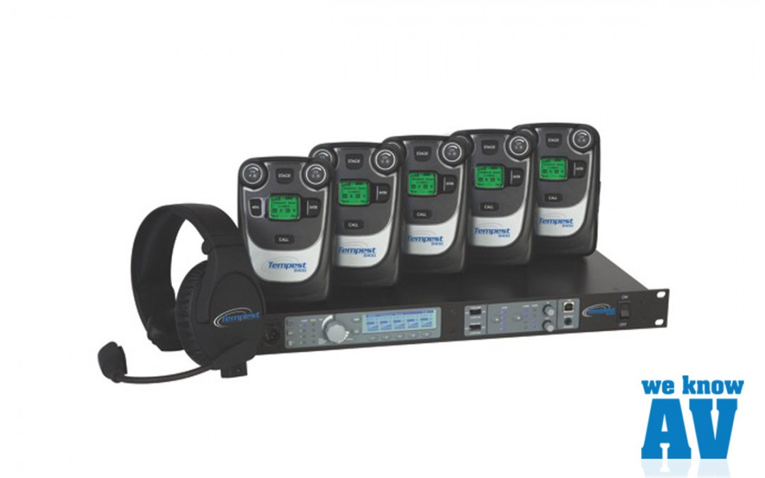 Tempest Wireless Intercome 2400 System Image