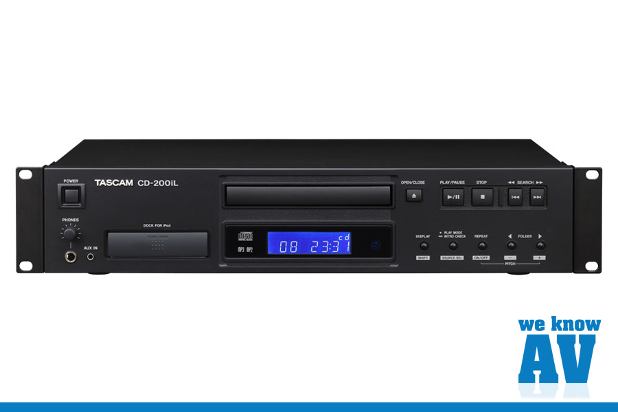 Tascam CD200iL CD Player – Shipping!