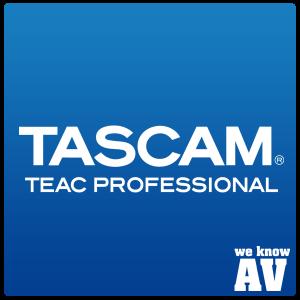Tascam Logo Image