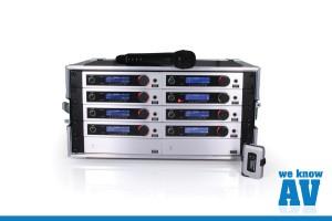 Trantec S5.3 8-Way Rack n Ready Wireless System