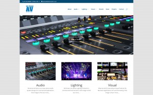 We Know AV Ltd Website Image