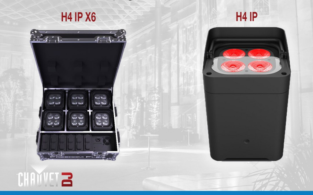 Chauvet Freedom Flex H4 – Now Available