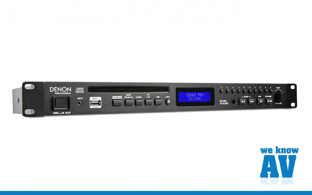 Denon DN300C CD Media Player – Available