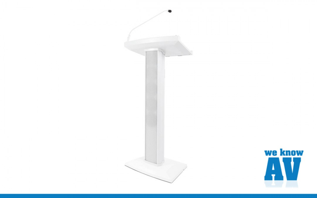 Denon Lectern Active in White