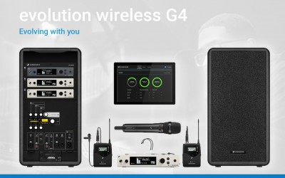 Sennheiser Evolution G4 Series – Available